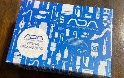 ADAオリジナルパッキングバンド届きました。